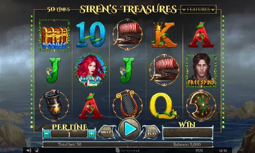 Sirens Treasures free slot