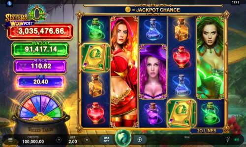 Sisters of Oz free slot