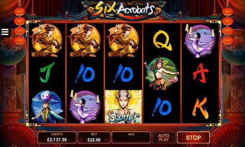 Six Acrobats free slot