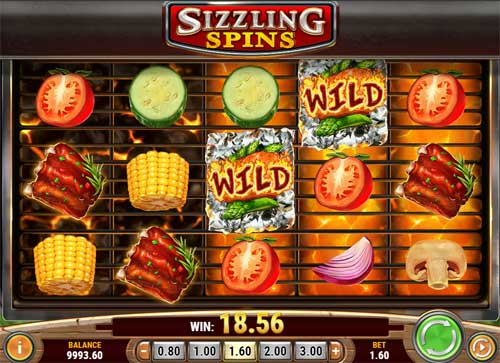 Sizzling Spins free slot