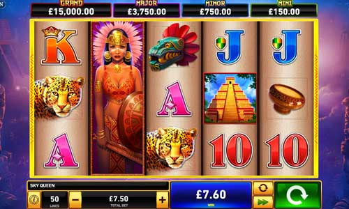 Sky Queenjackpot slot
