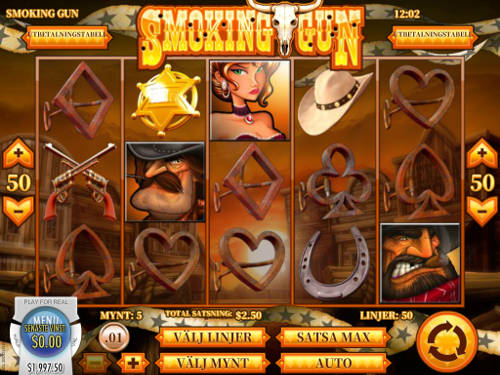 Smoking Gun casino slot