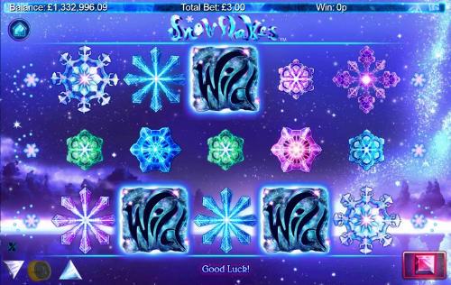 Snowflakes free slot