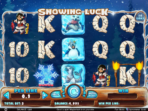 Snowing Luck free slot