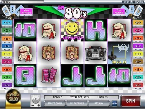 So 80s free slot