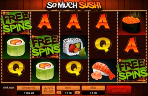 So Much Sushi free slot