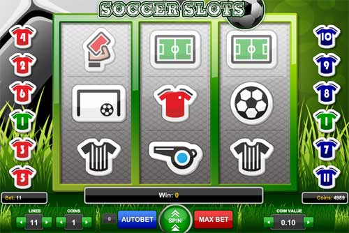 Soccer Slots free slot