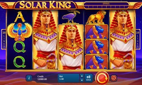 Solar King casino slot