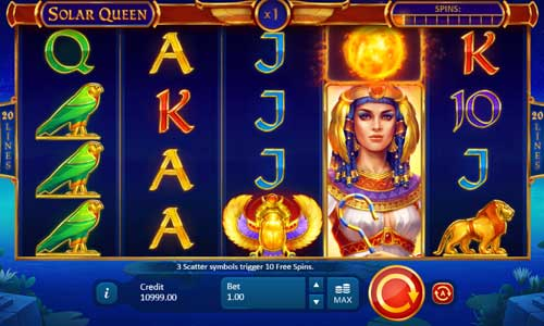 Solar Queen casino slot