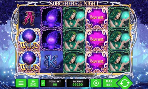 Sorcerers of the Night free slot