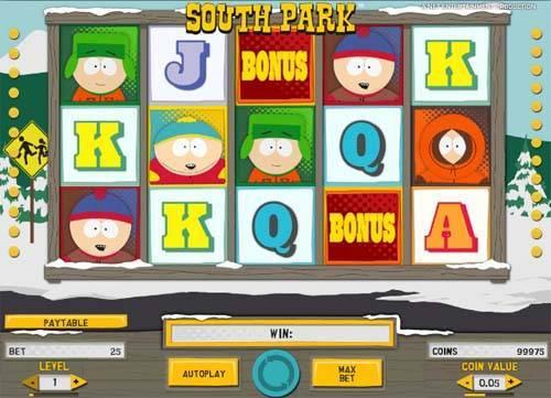 South Park free slot