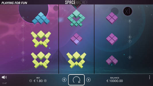 Space Arcade free slot