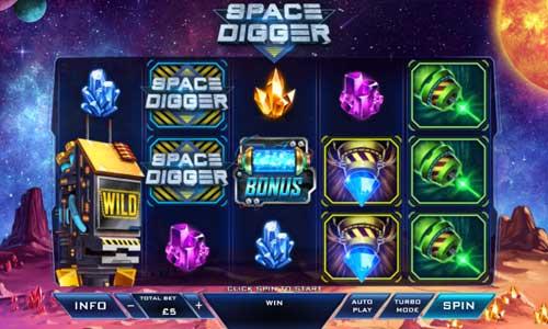 Space Digger free slot