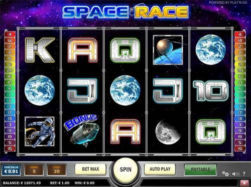 Space Race free slot
