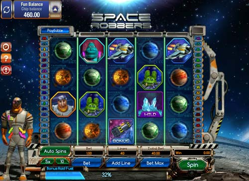 Space Robbers casino slot