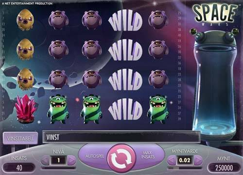 Space Wars classic slot