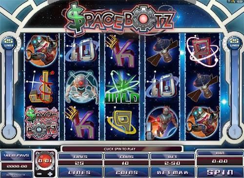 Spacebotz free slot