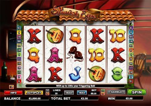 Spanish Eyes free slot