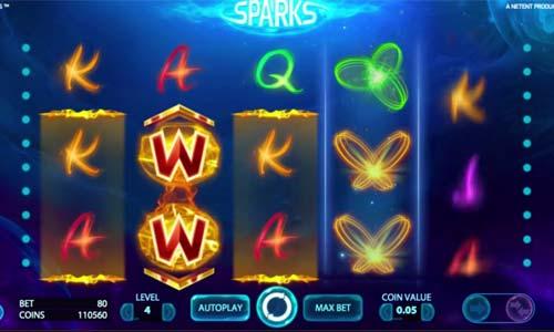 Sparks free slot