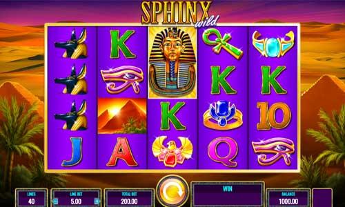 Sphinx Wild free slot