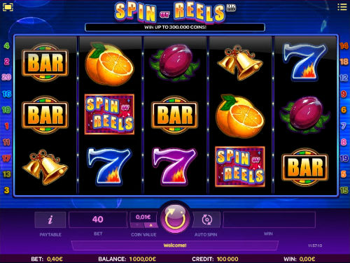 Spin or Reels free slot