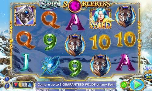 Spin Sorceress free slot