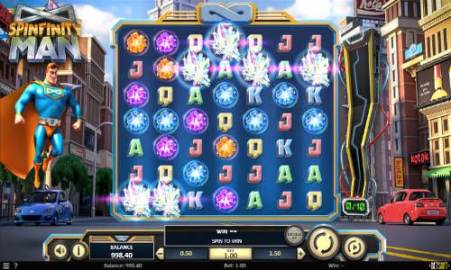 Spinfinity Man free slot