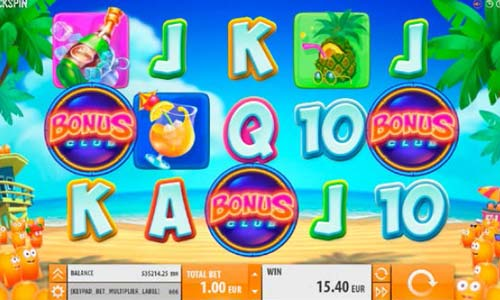 Spinions Beach Party free slot