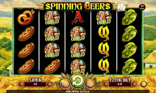 Spinning Beers free slot