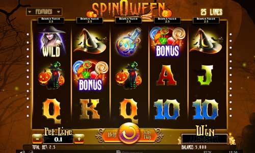 Spinoween free slot