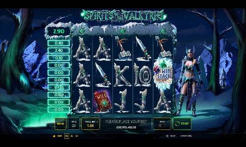 Spirits of the Valkyrie free slot