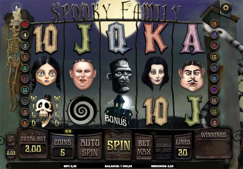 Spooky Family free slot