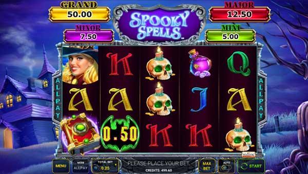 Spooky Spells free slot