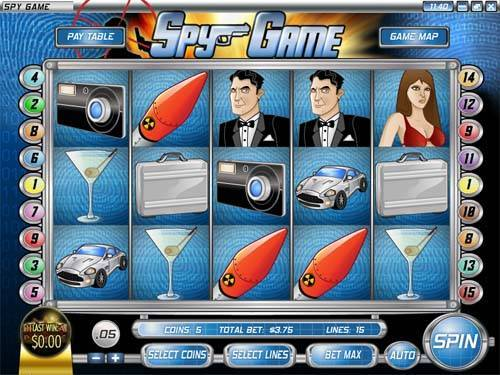 Spy Game free slot
