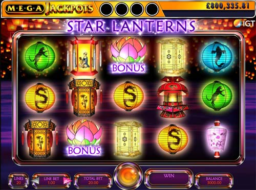 Star Lanterns free slot