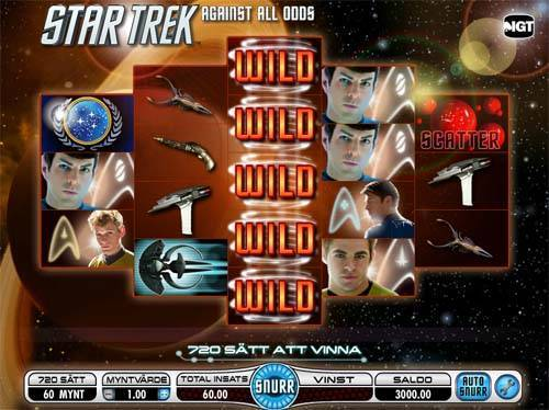Star Trek Against All Odds free slot