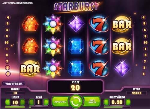 Starburst free slot