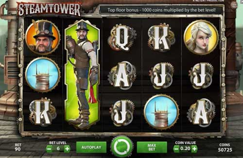 Steam Tower free slot