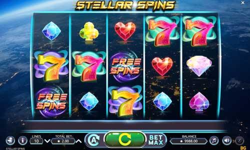 Stellar Spins free slot