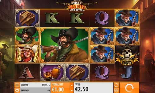 Sticky Bandits 2 Wild Return free slot
