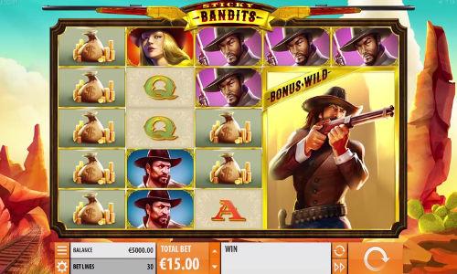 Sticky Bandits free slot