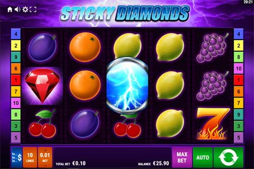 Sticky Diamonds free slot
