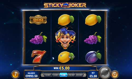 Sticky Joker free slot