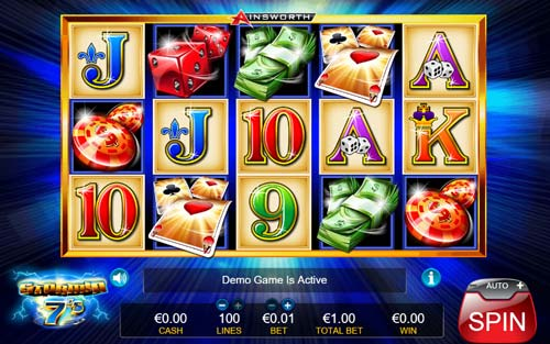Stormin 7s free slot
