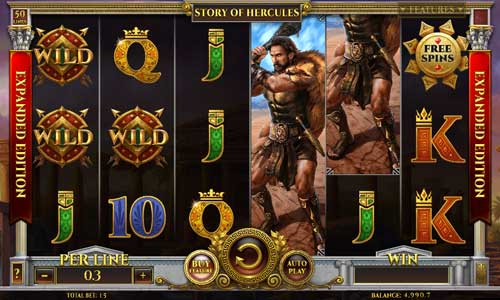 Story of Hercules Expanded Editionbuy feature slot