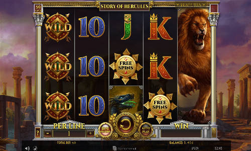 Story of Hercules free slot