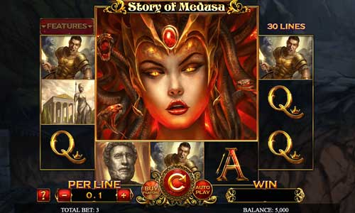 Story of Medusa casino slot