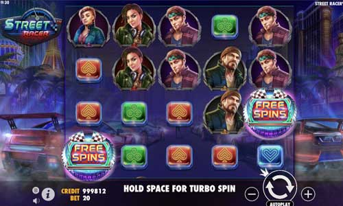 Street Racer new slot