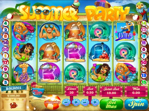 Summer Party casino slot