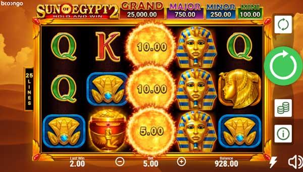 Sun of Egypt 2 free slot